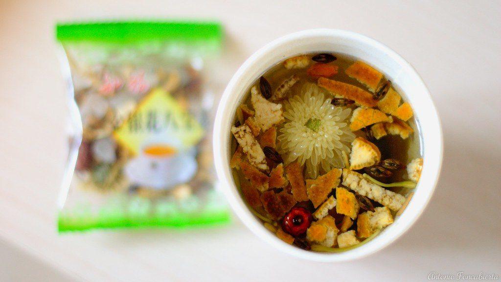 té de crisantemo