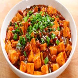 El tofu picante (Mapo doufu)