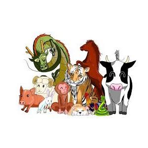 animales en chino